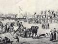 Гулянья на Новинском XVIII век