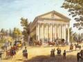«Каменноостровский театр». Гравюра М. Иванова. 1830-е (?) гг