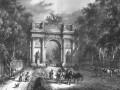 Нарвские триумфальные ворота, рисунок XIX века