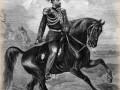 Николай Николаевич (Старший) — великий князь. Гравюра. 1880-х гг. Князь изображён в форме Уланского полка.