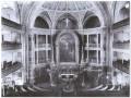Интерьер лютеранской церкви Святого  Петра. Фото н. XX века. Интерьер полностью уничтожен при перепрофилировании церкви в бассейн.