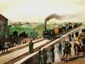 Открыта железная дорога Петербург — Царское Село