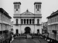 Немецкая лютеранская цековь Св. Петра. Фото конца XIX века