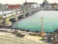 Благовещенский мост через Неву. Рисунок XIX века
