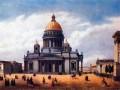 Исаакиевский собор. Литография Ф. Бенуа. 1850-е гг