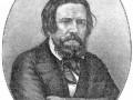 Портрет А. Иванова, гравированный в Лейпциге Геданом