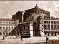 Мариинский театр, рисунок XIX века