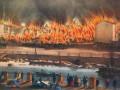 Крупнейший пожар в Апраксином дворе