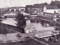 Охтинский пороховой завод. Вододействующие фабрики у плотины. 1912 год