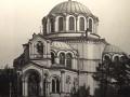 Греческая церковь Святого Димитрия Солунского. Вид на храм со стороны Лиговского проспекта. 1900-е годы