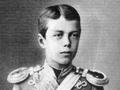 Юный цесаревич Николай Александрович, будущий император Николай II Кровавый