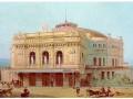 Цирк Чинизелли, акварель архитектора здания В. А. Кенеля, 1877 (?) г
