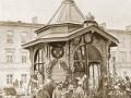 Часовня, возведенная на месте смертельного ранения Александра II.