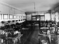Учебная телеграфная станция (студенты на практических занятиях). Электротехнический институт императора Александра III