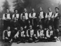 «Санкт-Петербургский кружок любителей спорта» (сокращенно именовался КЛС, или просто «Спорт»). Фото 1913 года, архив ЦГАКФФД