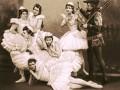 Сцены из балета «Лебединое озеро» П. И. Чайковского (балетмейстеры Петипа и Иванов), 1895 год