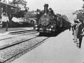 «Прибытие поезда на вокзал», кадр из фильма, братья Люмьер