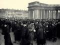 Студенческая демонстрация у Казанского собора 4 марта (старый стиль) 1901 года. Автор фото неизвестен
