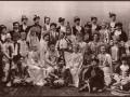 Гости костюмированного бала-маскарада, январь 1903 года