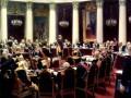 Впервые выставлена картина Репина «Торжественное заседание Государственного Совета 7 мая 1901 года»