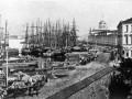 Тучкова набережная. Фото 1860-х гг.