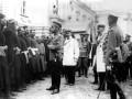 Николай II встречается с черносотенцами