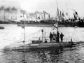 Первая подводная лодка, взятая на вооружение. Подводная лодка «Дельфин»