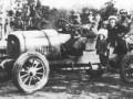 Испытательная поездка на «Руссо-Балте-С24-40» XVIII серии в мае 1918 года. За рулем -.И. И. Иванов, испытатель Петроградского филиала РБВЗ.
