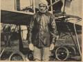 Лётчик Габер-Влынский. Фото из журнала Искры № 26 за 11 июля 1911 года