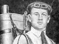 Котельников Глеб Евгеньевич с парашютом собственного изобретения