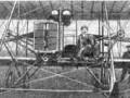 В. М. Абрамович на своем «Райте», 1910-е годы