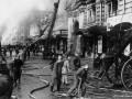 Пожар в Апраксином дворе.3 июля 1914 г. Фотоателье К.Буллы.