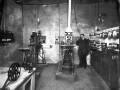 Операторская в кинотеатре «Пикадилли», фотография начала XX века (1910-е)