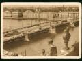 Республиканский (Дворцовый) мост и Университетская набережная — открытка начала XX века