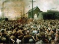 Выступление В. И. Ленина на митинге рабочих Путиловского завода в мае 1917 года
