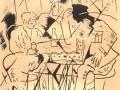Иллюстрация Юрия Анненкова к поэме А. Блока «Двенадцать»