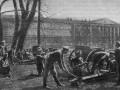 Артиллеристы Северо-Западной армии генерала Юденича на подступах к Петрограду