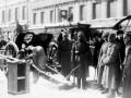 На улицах Петрограда, 1919 год (февраль?)