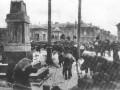 Возведение баррикад у Калинкина моста в Петрограде в период наступления Юденича Н.Н. Октябрь 1919