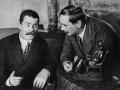 А. М. Горький и Герберт Уэллс. Петроград. 1920 год
