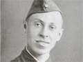 Михаил Михайлович Бобров перед забросом в тыл противника. Ленинградский фронт, июль 1941 года