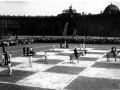 Шахматная партия на Дворцовой площади (Урицкого), 1924 год