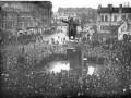 Митинг в день открытия памятника В. И. Ленину перед Финляндским вокзалом. 7 ноября 1926 года