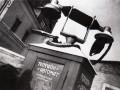 Будка уличного телефона-автомата. Москва, 1932 год