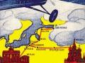 Реклама авиакомпании «Дерулюфт»