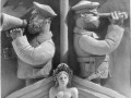 Керамическое панно, кораблестроительный институт керамика, 1990 г. Владимир Игнатьевич Табанин