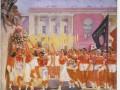 С.М. Киров принимает парад физкультурников. 1935
