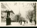 Сад трудящихся им. М. Горького, советская открытка 30-х годов