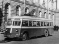 Троллейбус типа ЯТБ-1. Фото 1937