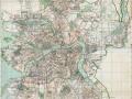 Карта Ленинграда, 1940 год; «Лениздат»